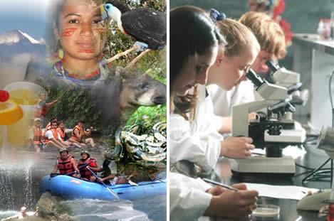 turismo y laboratorio